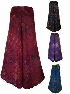 Tie dye Palazzo Trousers