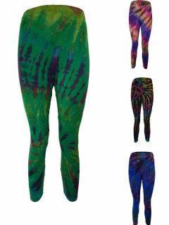Tie dye 3/4 length Leggings