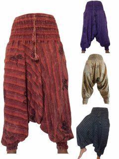 Stonewash Harem trousers