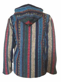 Striped jacket- Blue