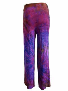 Tie dye trousers – Purple
