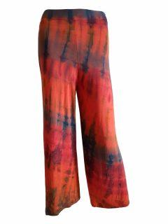 Tie dye trousers- Orange
