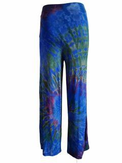 Tie dye trousers- Royal Blue