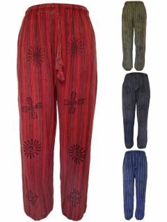 Cotton alibaba trousers