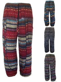 Heavy cotton alibaba trousers