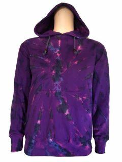 Tie dye hoody – Purple