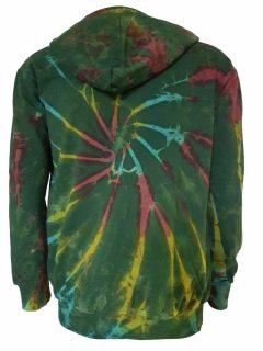 Tie dye hoody – Green