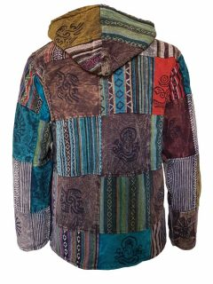 Multi patchwork jacket