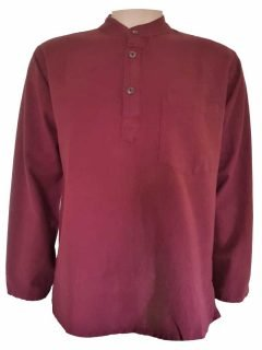 Grandad shirt- Red