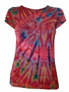 Tie Dye t-shirt: Red