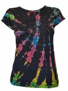Tie Dye t-shirt: Multi