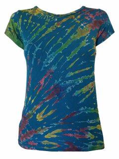 Tie Dye t-shirt: Teal