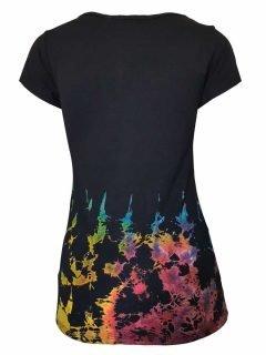 Tie Dye t-shirt: Half tie dye