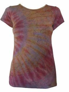 Tie Dye t-shirt: Dusty Purple