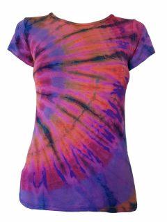 Tie Dye t-shirt: Purple