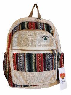 Hemp backpack – Red