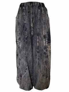 Tree of life trousers – Black