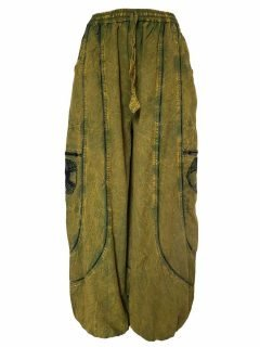 Tree of life trousers – Green