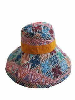 Reversible Wide Brim Hat – Yellow
