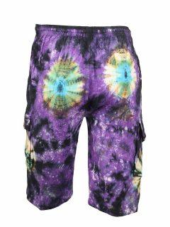 Tie Dye Shorts- Purple