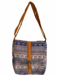 Geometric buckle bag – Yellow